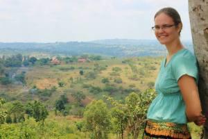 Bethany in Uganda, October 2013