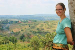 Bethany in Uganda, October 2013