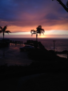 Sunset after day 1 of Storyline, Point Loma, San Diego