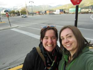 Ali and I at the beginning of our Jasper adventure in 2012.