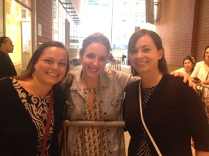 Lyndsay and I with Jessie Mueller, who was just as sweet as we imagined she'd be.
