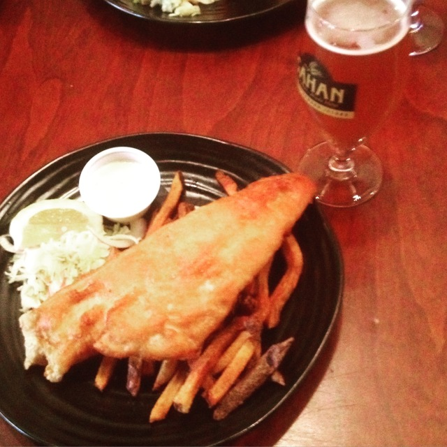 Fish and chips in Charlottetown