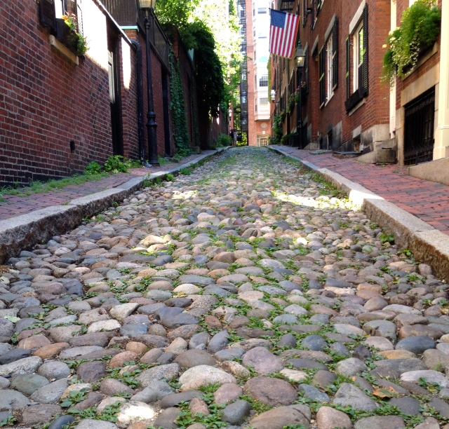 Acorn St. on Beacon Hill in Boston