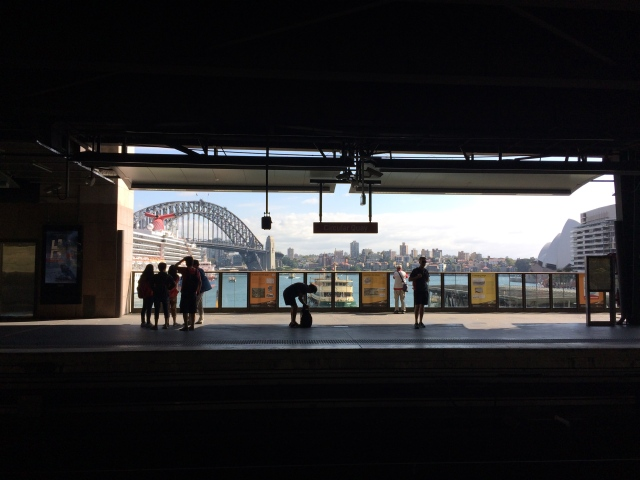 The Circular Quay train station